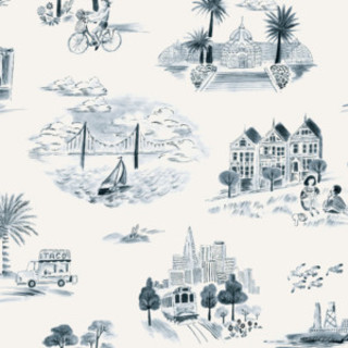 San Francisco Toile