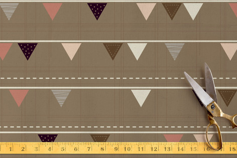 Bunting flags Fabric