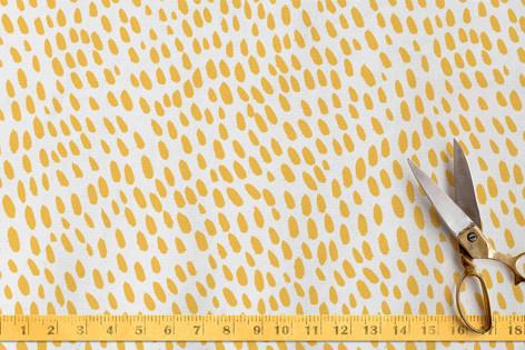 Sunshine dots Fabric