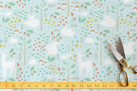 Happy Forest l Fabric