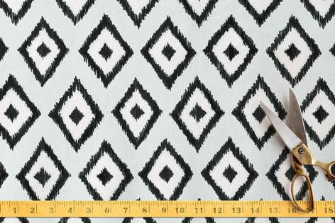 Handdrawn iKat Fabric