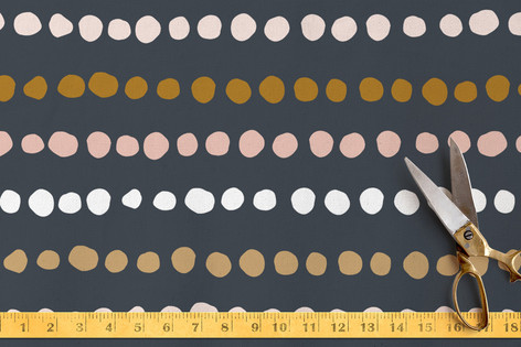 Dotted Line Fabric