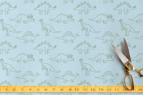 Dinosaur Stomp Fabric