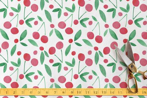 Very Cherry Fabric