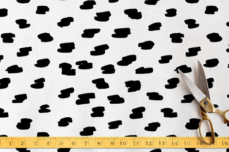 Brushed Spots Fabric