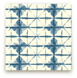Shibori Diamonds by Flora Poste Studio