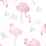 Cloudy with a Chance of Flamingos