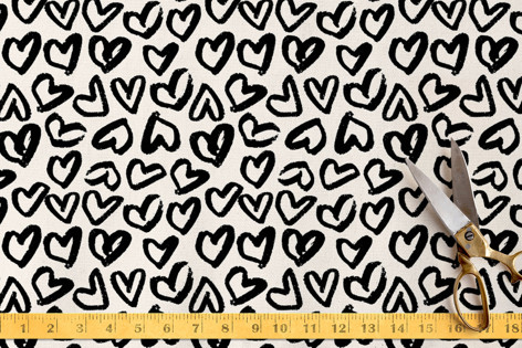 Heart Flutter Fabric