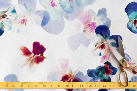 Floral petals romantic Fabric