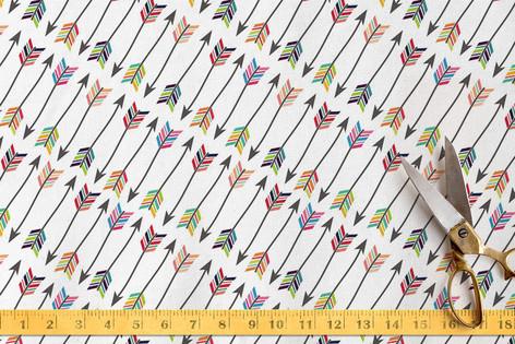 Tribal Arrows Fabric