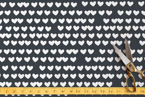 Petite Hearts Fabric