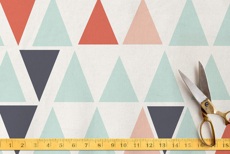 Little Pyramids Fabric