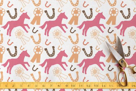 Pony Show Fabric