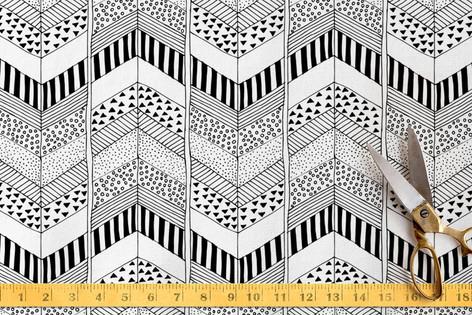 Organic Herringbone Fabric