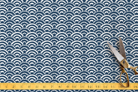 New Waves Fabric