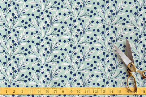 Vine and Berry Fabric