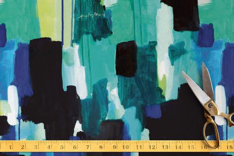 Waiting - Textile Fabric