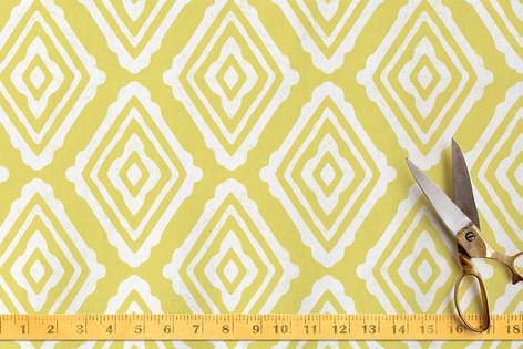 Snuggling Diamonds Fabric