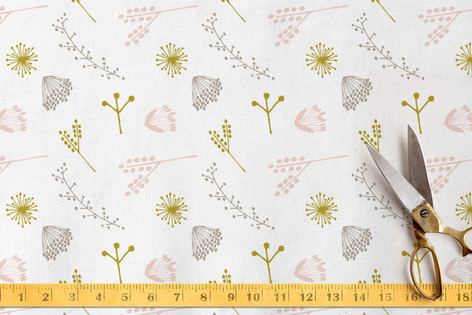Botanical Scatter Fabric