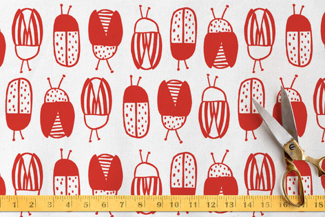Snug Little Bugs Fabric