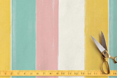 Bright Stripe Fabric