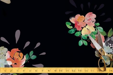 Wonderland garden Fabric