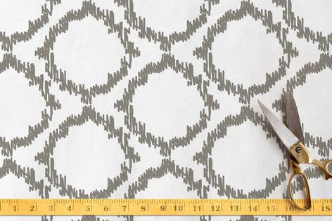 Ikat Collection - Quatrefoil Fabric