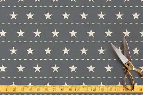 Airborne - Stars And Stripes. Fabric
