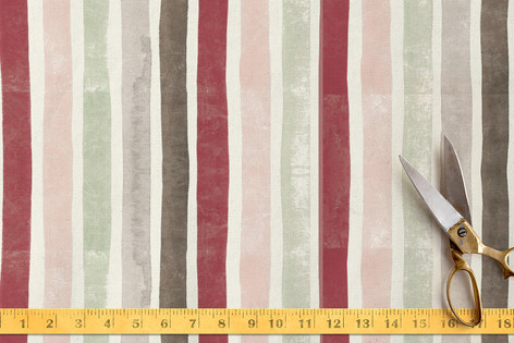 Candy Cane Stripes Fabric