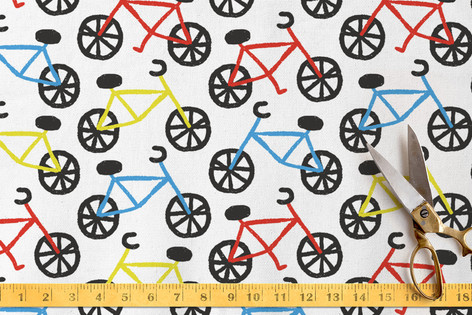 Bike Ride Fabric