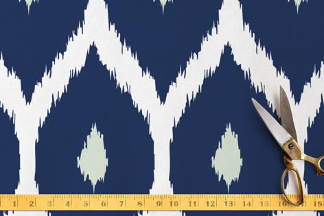 Moroccan Ikat Fabric