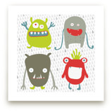 Monster Mash Art Prints