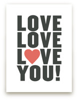 Love You! Art Prints