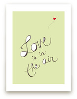 Love is in the Air Art Prints