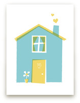 Happy Home Art Prints