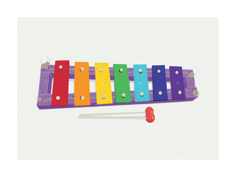 Xylophone | Limited Edition Print by Tyler Tea