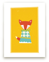 Foxy Art Prints
