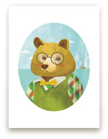Thaddeus J. Bear Art Prints