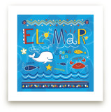 El Mar Art Prints