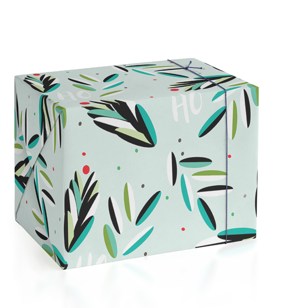HoHoHo Wrapping Paper by Trendy Peas