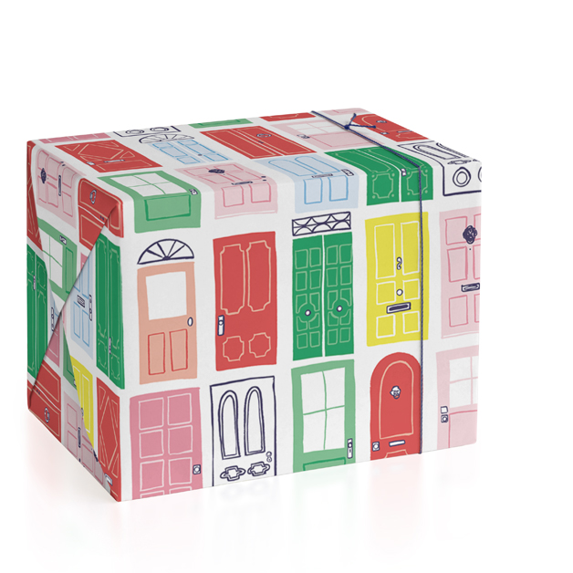 Charleston Doors Wrapping Paper