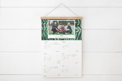 Botanical Hanging Bar Calendar