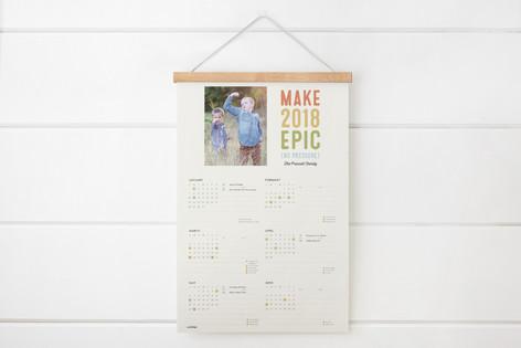 Epic Hanging Bar Calendar