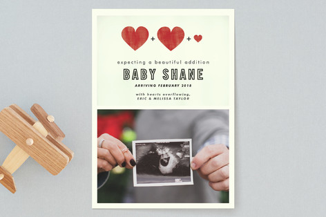 A Beautiful Addition Pregnancy Announcements