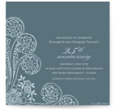 Spanish Lace Anniversary Party Invitations Cards