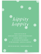 Hippity Hoppity Party Invitations