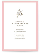 Classic Bunny Party Invitations
