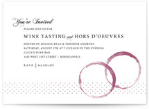 Vino Party Invitations