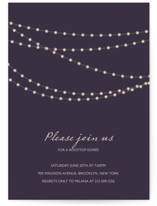 Midnight Vineyard Party Invitations