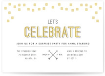 Arrowhead Pastels Party Invitations